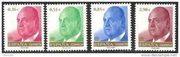 2012-ED. 4699/4702- NUEVA SERIE BASICA- REY JUAN CARLOS-NUEVO - 1931-Oggi: 2. Rep. - ... Juan Carlos I
