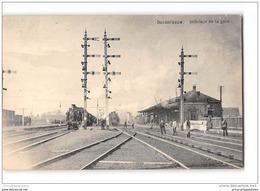 CPA Denderleeuw Interieur De La Gare Et Le Train - Denderleeuw