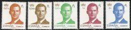 2015-ED. 4934 A 4938 SERIE BÁSICA- 1ª SERIE DEL REY FELIPE VI -NUEVO - 1931-Oggi: 2. Rep. - ... Juan Carlos I
