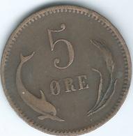 Denmark - Christian IX - 1874 - 5 Øre - KM794.1 - Denmark