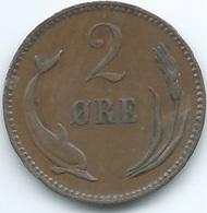 Denmark - Christian IX - 1902 - 2 Øre - KM793.2 - Denmark