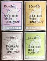 St Vincent 1979 Soufriere Relief Fund MNH - St.Vincent (1979-...)