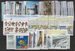Timbres De Saint Pierre Et Miquelon Année Complète 2000 Neufs ** - Ongebruikt