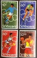 St Vincent 1980 Sport MNH - St.Vincent (1979-...)