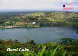 Liberia Bomi Lake New Postcard - Liberia