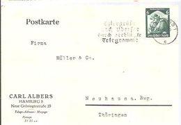 LETTER   1935 HAMBURG - Cartas