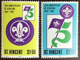 St Vincent 1982 Scouts MNH - St.Vincent (1979-...)