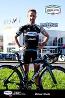 CARTE CYCLISME MICHAEL WOODS TEAM AMORE VITA - SMP 2014 - Cyclisme