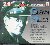 Glenn Miller : 24 Great Jazz Performances (2 CD) - Jazz