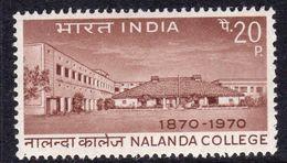 India 1970 Centenary Of Nalanda College, MNH, SG 609 (D) - Neufs