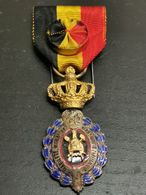 Belgique, Médaille Du Travaille 1ere Classe - Belgique