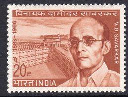 India 1970 V.D. Savarkar Commemoration, MNH, SG 614 (D) - Neufs
