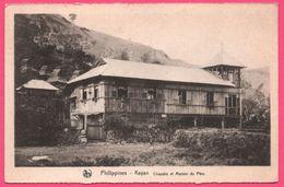 Philippines - Kayan - Chapelle Et Maison Du Père - Missions De SCHEUT - Edit. NELS - Vers MAREDSOUS ( B ) 1936 - Filippijnen
