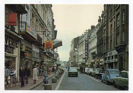 DOUAI ----La Rue De Bellain--très Animée-commerces-- (belles Voitures Dont Citroen 2CV ) - Douai