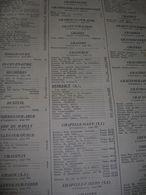 Pages Didot Bottin 1939 Annuaire Aube 10 Toutes Les Communes Tout Les Commerces - Essoyes