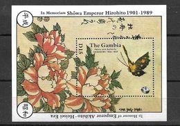 GAMBIA 1989 BUTTERFLIES MNH - Mariposas