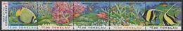 Tokelau 1997 - Mi-Nr. 253-257 ** - MNH - Fische / Fish - Tokelau