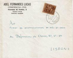 ABEL FERNANDES LUCAS , Funchal , Madeira , 1972 , Medieval Knigth  Stamp - 1910-... Republic