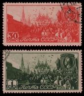 Russia / Sowjetunion 1947 - Mi-Nr. 1117-1118 Gest / Used - 1923-1991 USSR
