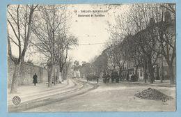 A135  CPA   TOULON - MOURILLON  (Var) Boulevard De Bazeilles - Militaires  ++++ - Toulon