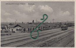 Korolevo , Kralovo , Kiralyhaza ,  Zakarpattya  ,  Stantsiya , Bahnhof , Nadrazi  , Podkarpatska Rus - Ukraine