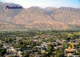 Tajikistan Panjakent Aerial View New Postcard Tadschikistan AK - Tadzjikistan