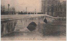 LOT De 24 CPA De PARIS Inondations De 1910-Toutes Différentes-BE-Frais D'envoi Pour La F 5.64 - 5 - 99 Postcards