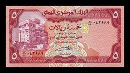 Yemen 5 Rials 1991 Pick 17c Sign 8 SC UNC - Yemen