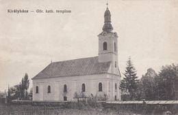 Korolevo - 1916 , Kralovo , Kiralyhaza , CERKOV ,  Zakarpattya  , Podkarpatska Rus - Ukraine