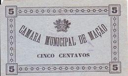 Portugal  Cédula De Mação 5 Centv.  Nº 1292 S/ Data - Portugal