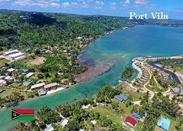 Vanuatu Efate Port Vila Aerial View New Postcard - Vanuatu