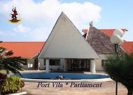 Vanuatu Port Vila Parliament New Postcard - Vanuatu