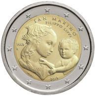 San Marino 2019 - 2 Euro – Filippo Lippi - San Marino