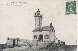 85 - VENDEE - LA TRANCHE SUR MER - ANCIENNE MAISON PHARE DU GROIN DU COU - DYNAMITEE PAR LES ALLEMANDS EN 1944 - RARE ! - La Tranche Sur Mer