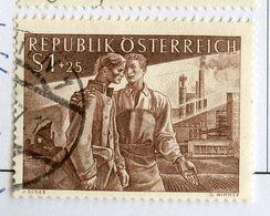 1955 Refugees Michel # 1019 VERY Fine (24873-107) - 1945-.... 2. Republik