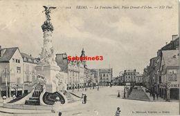 Reims - La Fontaine Subé , Place Drouet D'Erlon - Reims