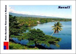 Samoa Savaii Landscape New Postcard - Samoa