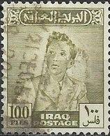 IRAQ 1948 King Faisal II - 100f - Green FU - Iraq