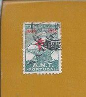 Circled Vignette Tuberculose Natal 1934 From ANT Portugal. Tubercolosi. Eingekreiste Vignette Tuberkulose Weihnachten. - Medicine