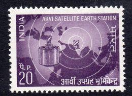 India 1972 1st Anniversary Of Arvi Satellite Station, MNH, SG 655 (D) - Neufs