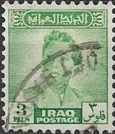 IRAQ 1948 King Faisal II - 3f - Green FU - Iraq