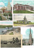 Lot 30 Alte Ansichtskarten USA Querbeet, Viel New York - Cartes Postales