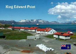 South Georgia King Edward Point New Postcard Südgeorgien AK - Postkaarten