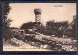 42. Roanne. Bords Du Canal. Le Château D'eau De L'arsenal - Roanne