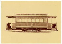 """""""LA BREDA"""" - 1886-1986 - 1924 - VETTURA TRANVIARIA RIM..PER VARSAVIA - POLONIA - LAVORO ITALIANO NEL MONDO - Vedi Retro - Trenes"""