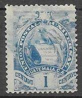 Timbre De 1897 - 94 : N°44 Chez YT. (Voir Commentaires) - Guatemala