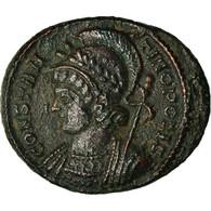 Monnaie, Constantinople, City Commemoratives, Nummus, 330-333, Lyon, TTB, Cuivre - 7. The Christian Empire (307 AD Tot 363 AD)