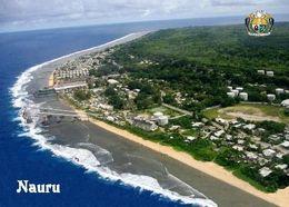 Nauru Island Aiwo Aerial View New Postcard - Nauru