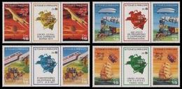 São Tomé & Príncipe 1978 - Mi-Nr. 522-529 A ** - MNH - UPU - Sao Tome And Principe
