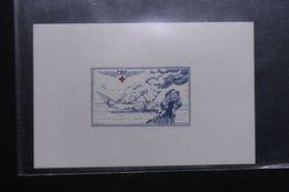 FRANCE - Épreuve D'artiste ( Non Signée ) D'une Vignette Croix Rouge - L 62526 - Künstlerentwürfe